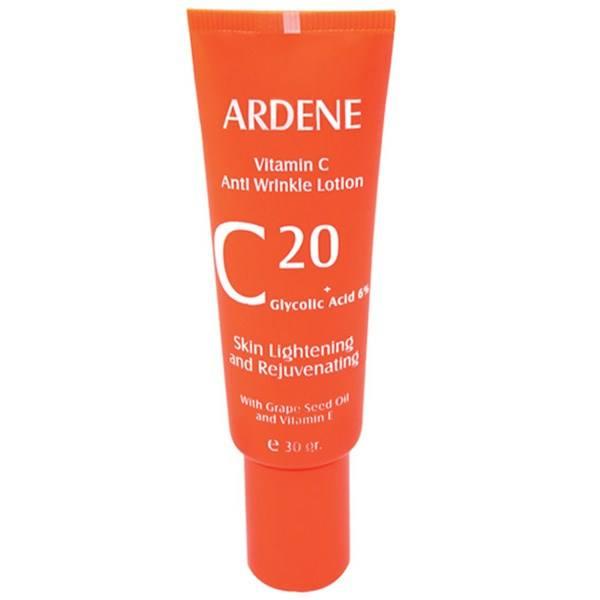 لوسیون ضد چروک قوی آردن مدل Vitamine C