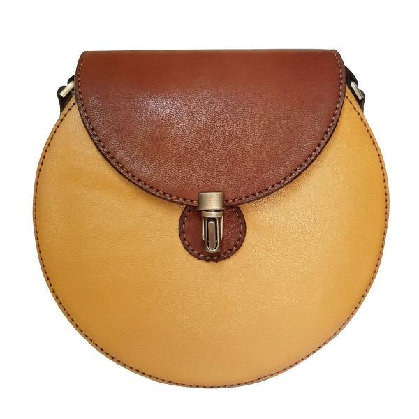کیف دوشی زنانه چرم روژه