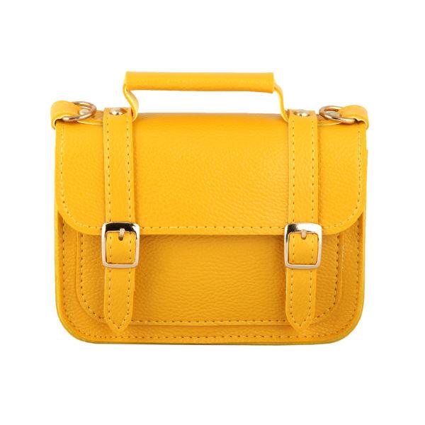 کیف کمری زنانه سگک دار زرد