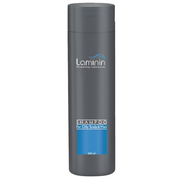 شامپو لامینین مناسب موهای چرب حجم