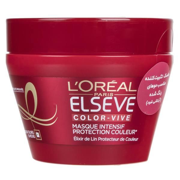 ماسک موی رنگ شده لورآل Elseve مدل Color Vive