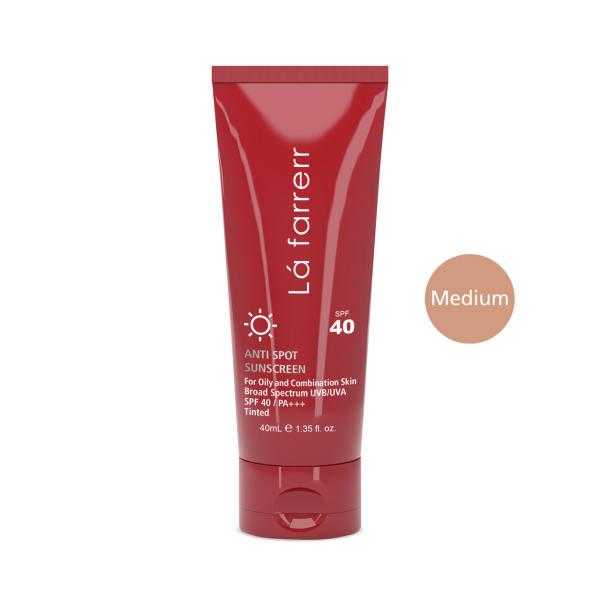 کرم ضد آفتاب و ضد لک رنگی لافارر مدل Oily And Acne-Prone Medium