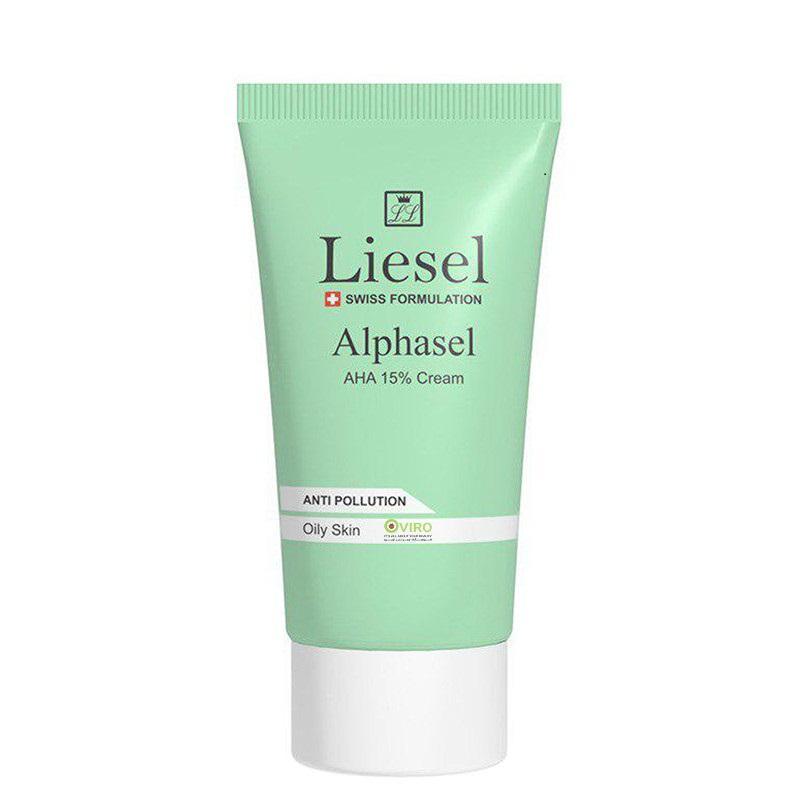 کرم لایه بردار قوی برای لک صورت و پوست لایسل مدل Alphasel