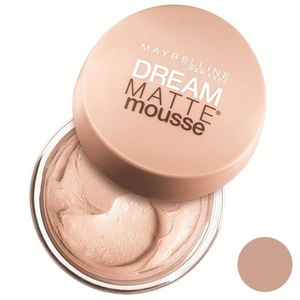 موس میبلین مدل Dream Matte Mousse Sand 30