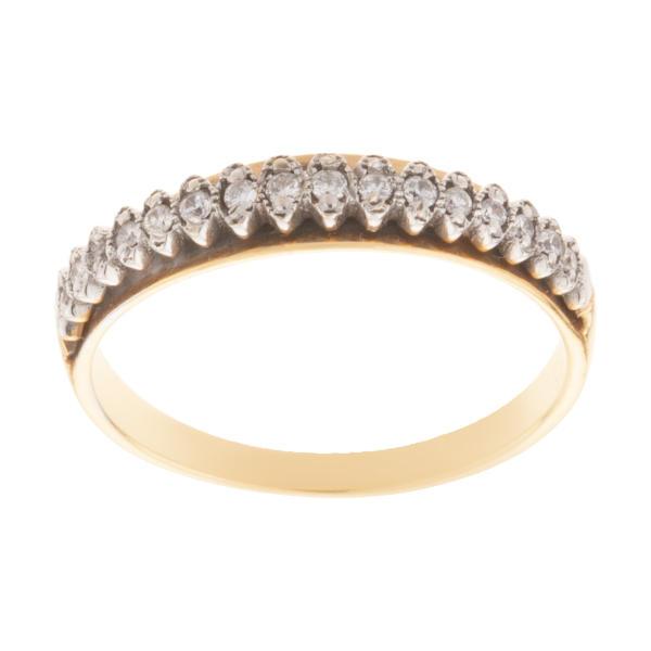 انگشتر طلا 18 عیار زنانه کد 110543