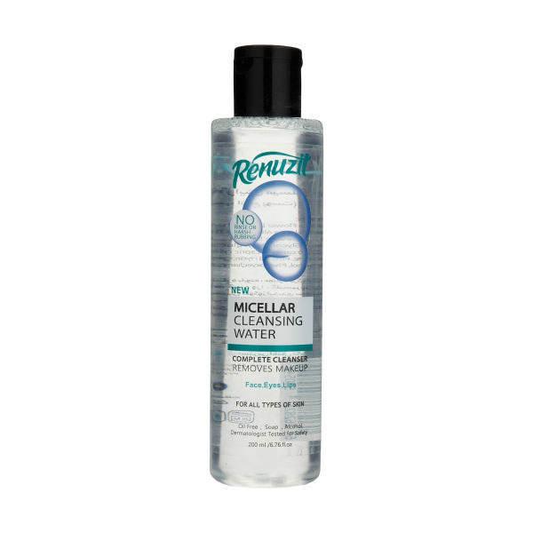 آب پاک کننده آرایش صورت رینوزیت مدل میسلار