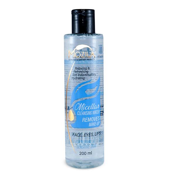 آب پاک کننده آرایش صورت موزیلا مدل میسلار