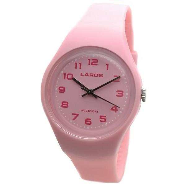 ساعت مچی عقربه ای زنانه لاروس مدل LC-A300-Pink
